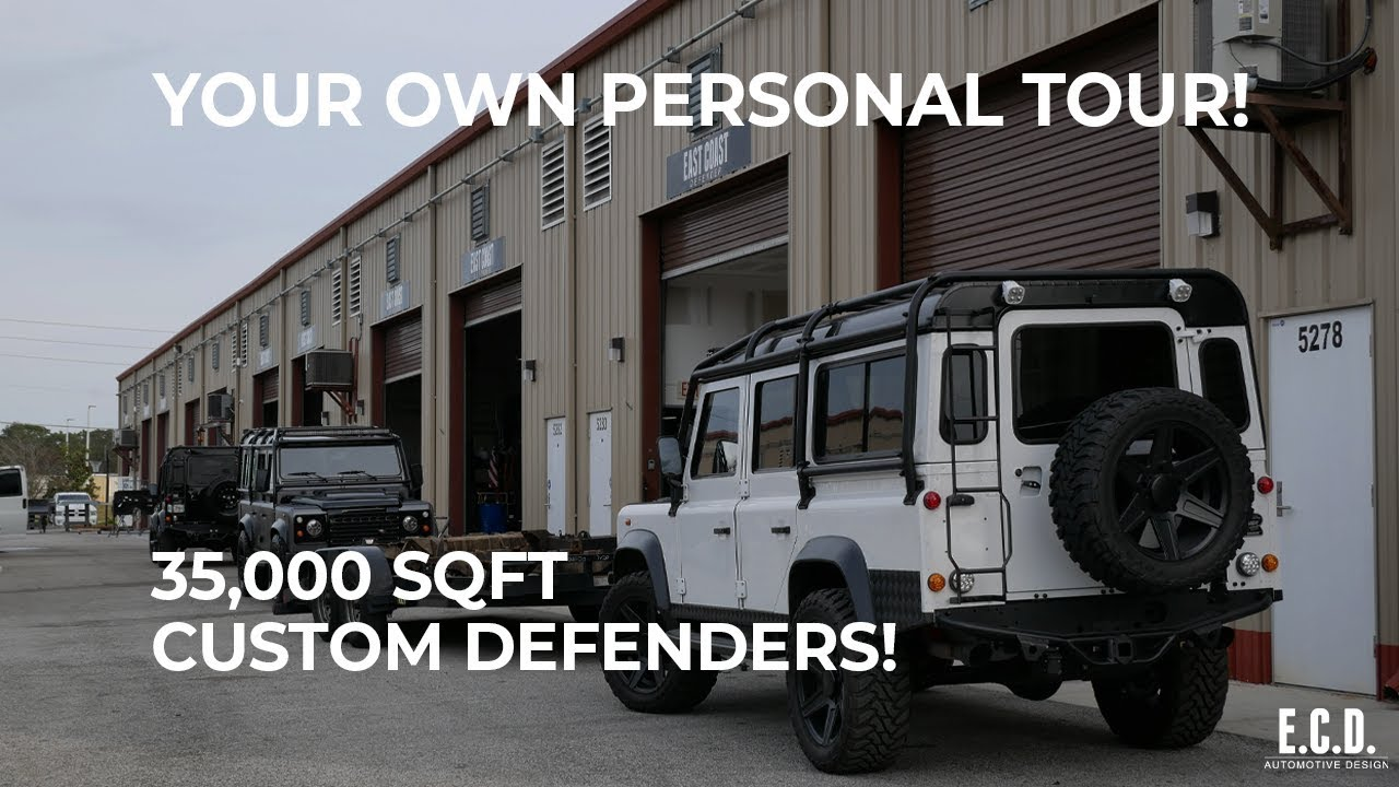 Tour Of Leading Custom Defender Facility Behind The Build Ep 18 E C D Automotive Design Youtube