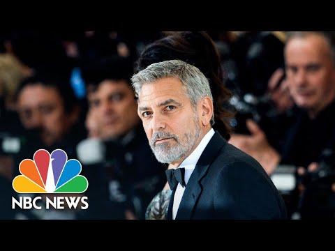 George Clooney Speaks