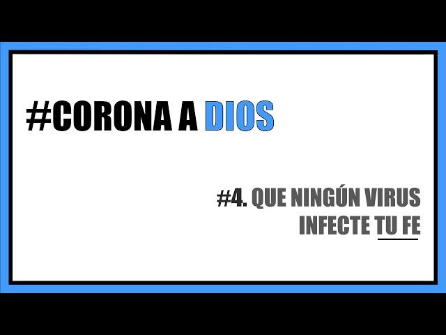 #4. Que ningún virus infecte tu fe | Pra. Nadia Sañudo