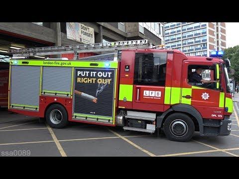 London Fire Brigade Shoreditch Turnout [GB | 6.2017]
