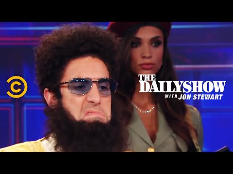 Thumbnail: The Daily Show - Admiral General Aladeen