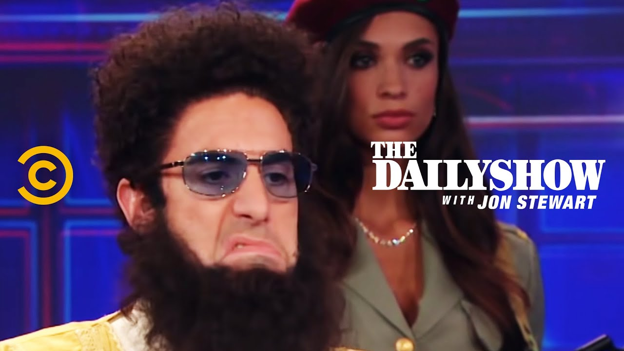 Download The Daily Show - Admiral General Aladeen