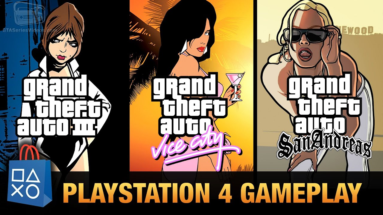 Gta  Gta Vice City Gta San Andreas Playstation  Gameplay Youtube