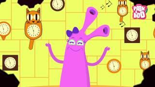 Hickory Dickory Dock | Nursery Rhymes For Kids | Popular English Rhymes | Peekaboo