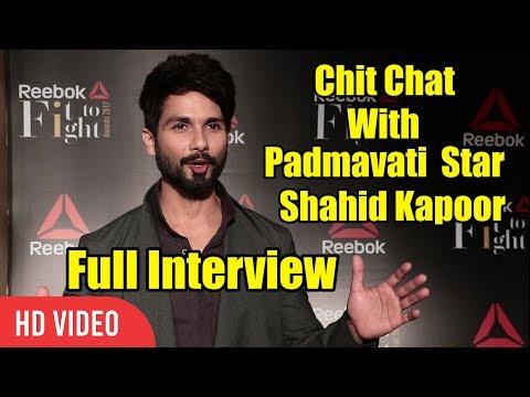 Chit Chat With Padmavati Star Shahid Kapoor | Full Interview | Viralbollywood