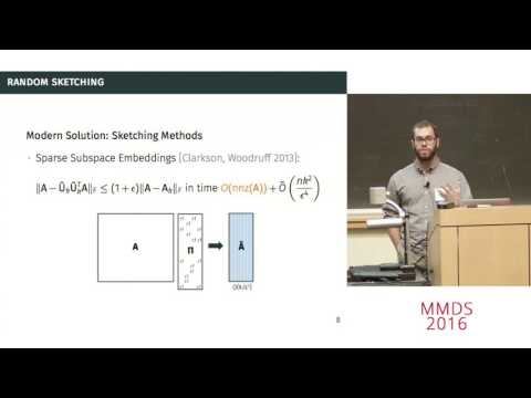 Randomized Low-Rank Approximation and PCA: Beyond Sketching, Cameron Musco