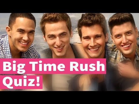 Big Time Rush, Song Quiz!