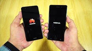 Nokia 6 vs Huawei P10 Lite Speed Test [Urdu/Hindi]