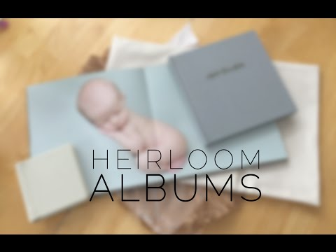 Heirloom Photo Albums - Pure Natural Newborn Photography