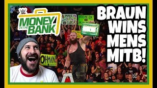 REACTION   BRAUN STROWMAN WINS WWE MONEY IN THE BANK 2018   ALLSTATE ARENA, CHICAGO