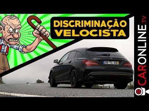 DISCRIMINAÇÃO na VELOCIDADE | MERCEDES-BENZ CLA 45 AMG [Review Portugal]
