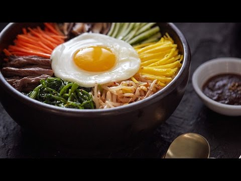 Authentic Bibimbap - Crazy Korean Cooking EXPRESS