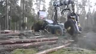 Automatic Tree Cutting Machine