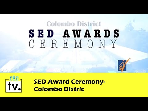 SED Award Ceremony- Colombo District