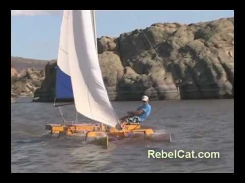 Why Make A RebelCat PVC Pipe Catamaran Sailboat? - YouTube