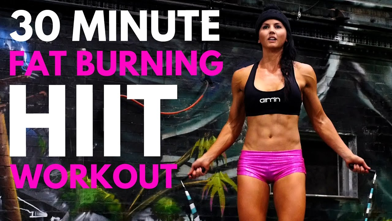 30-Minute FAT BURNING HIIT CARDIO WORKOUT! 🔥  at Home with WINTER