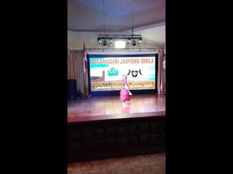 Srikandi mustika wening @sonia putri juara 1 ratu  jaipong idol disparbud jabar 2016