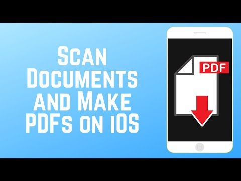 How To Scan Documents And Make PDFs With IPhone Or IPad