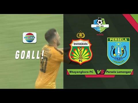 Goal Paulo Sergio - Bhayangakara FC vs Persela Lamongan | Go-Jek Liga 1 bersama Bukalapak