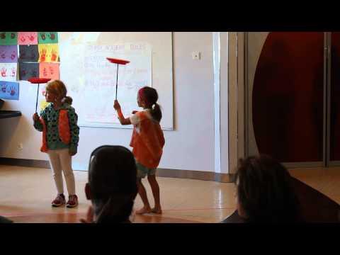 Caribbean Cruise Janie Plate Spinning Circus Tricks 2013