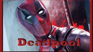 Я рисую - Дэдпула. /I draw Deadpool