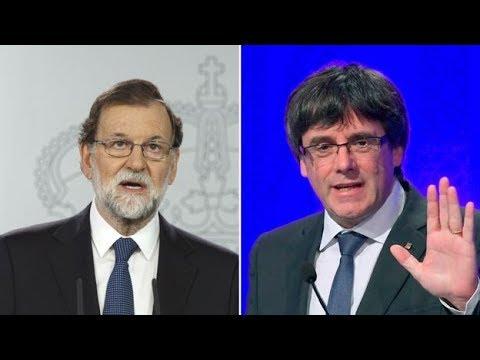 Catalonia independence: Rajoy dissolves Catalan parliament - BBC News