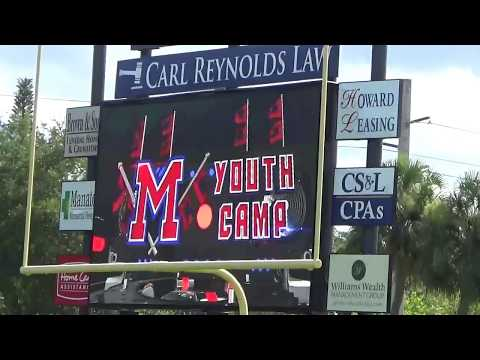 Manatee High School Youth Football Camp 2018