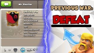 Clash Of Clans | THE UNDEFEATED CLAN WAS FINALY DEFEATED! | 223 WAR WIN STREAK DESTROYED |