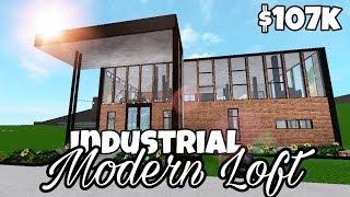 Loft moderno industriale (107k) | Velocità di Bloxburg Build | Roblox