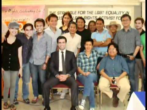 Civil Rights Lawyer Greets the LGBT Community in the Philippines