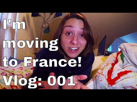 I'm moving to FRANCE! First video on my Workaway Eurotour. Travel Vlog: 001