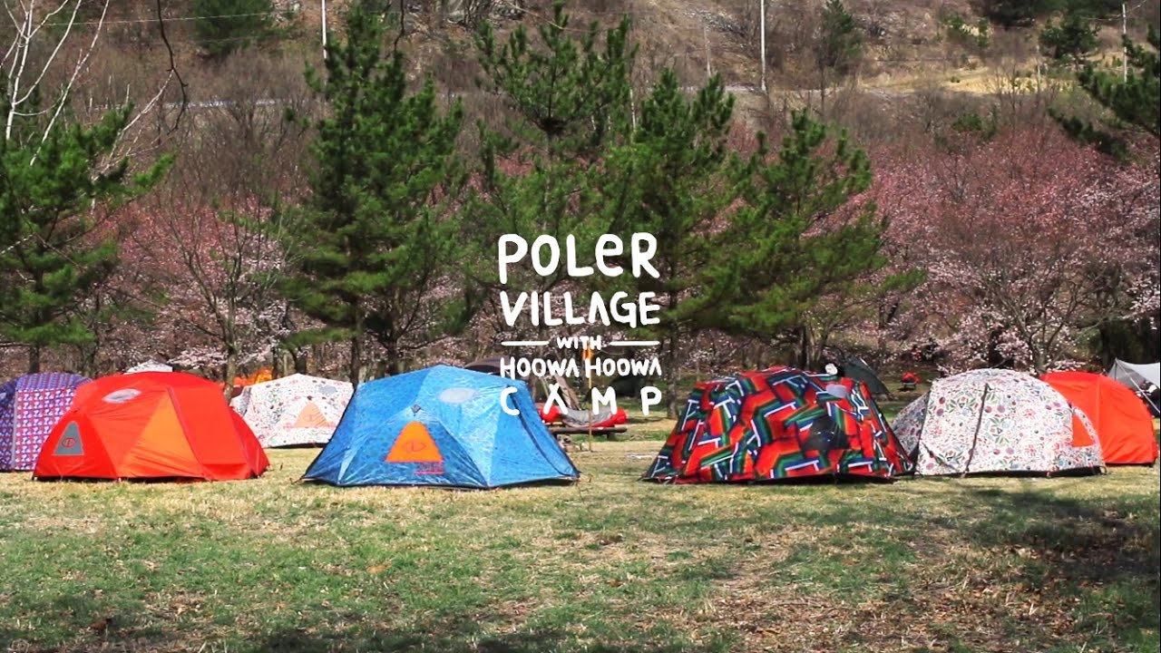[??????] POLER VILLAGE CAMP with Poler stuff two man tent & ??????] POLER VILLAGE CAMP with Poler stuff two man tent ...