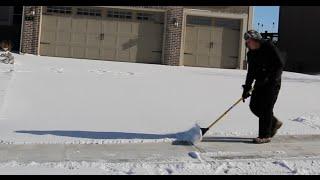 Snow Vlog The Best Snow Shovel Ever!!