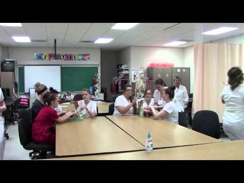 Health Occ AM Class Clinton Technical School
