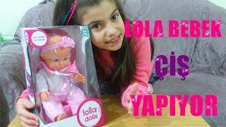 Lola Bebek Çiş Yapıyor ::: Oyuncak Bebek Kutu Açımı