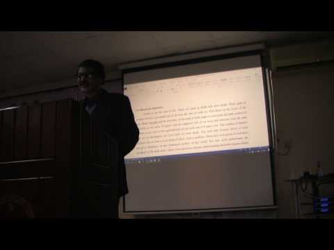 Soul, Death, Barzach & the Hereafter- Islamic Perspectives - Prof. Arif Hossain