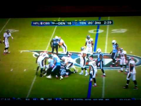 Cortland Finnegan Cheap Shot on Chris Kuper