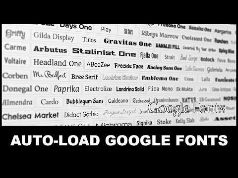Add Google Fonts to HTML5 | Export Kit