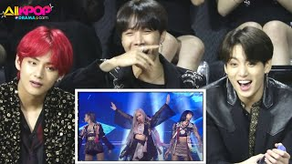 BTS Reaction to BLACKPINK perform 'How You Like That' LIVE Show 2020