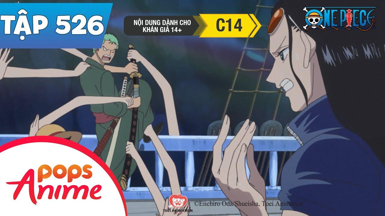 One Piece Tập 526 - Núi Lửa Phun Trào! Trôi Tới Đảo Người Cá - Đảo Hải Tặc
