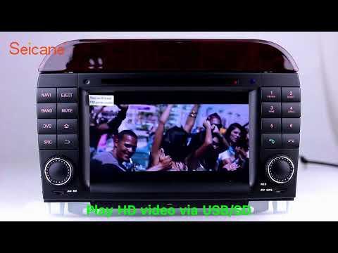 1998-2005 Mercedes Benz S Class W220 S280 Radio DVD GPS Navigation Player Support 3G WIFI