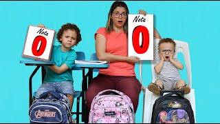 REGRAS DE CONDUTA para CRIANÇAS NA ESCOLA Rules of Condut for Children Cadu Pontes