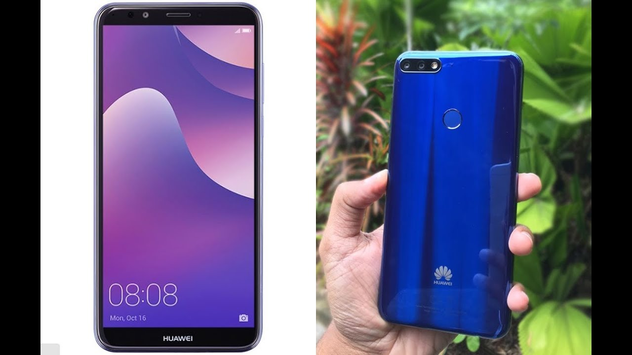 Huawei Y7 Prime 2018 Specs, Design Overview