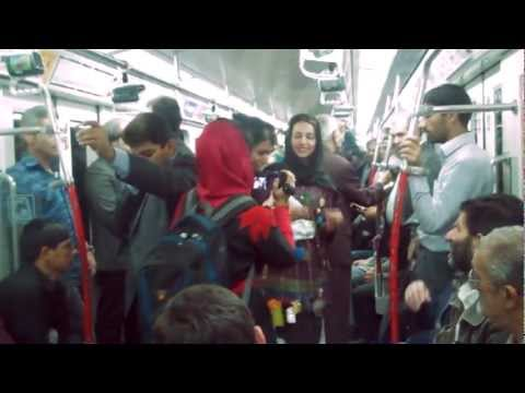 Runway In Subway/ Performance Art in Tehran-Iran