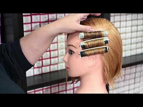 Видео уроки химической завивки волос