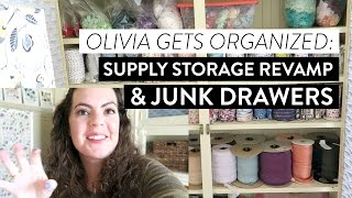I DID IT! I worked HARD this week to clean out my supply storage in...