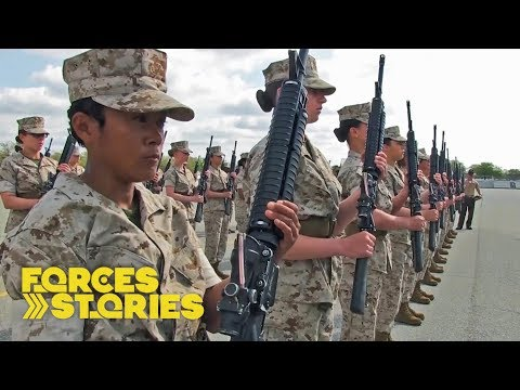 Warrior Women: Making US Marines | Forces TV