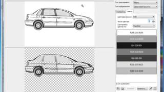 Уроки Корел. Corel Draw X5 для новичков. Трассировка изображения ч.3 (8.12) Хорошее качество видео у