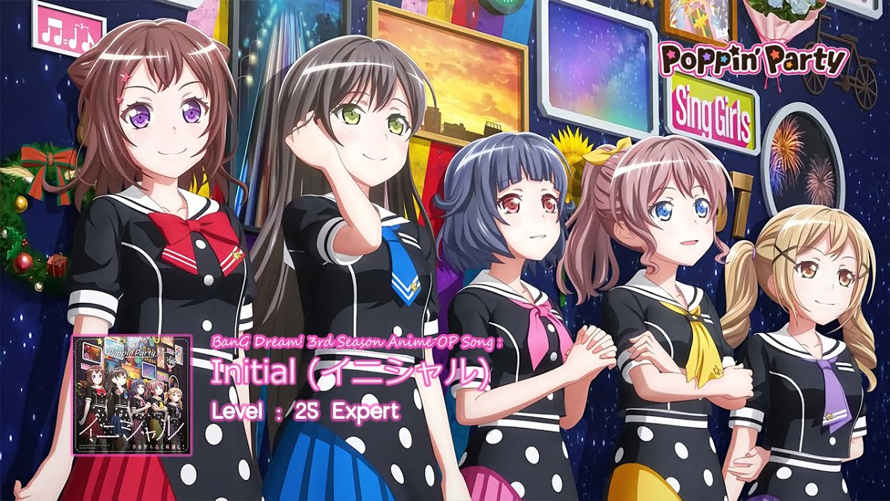 BanG Dream!] Anime 3rd Season OP : Poppin'Party - Initial ...