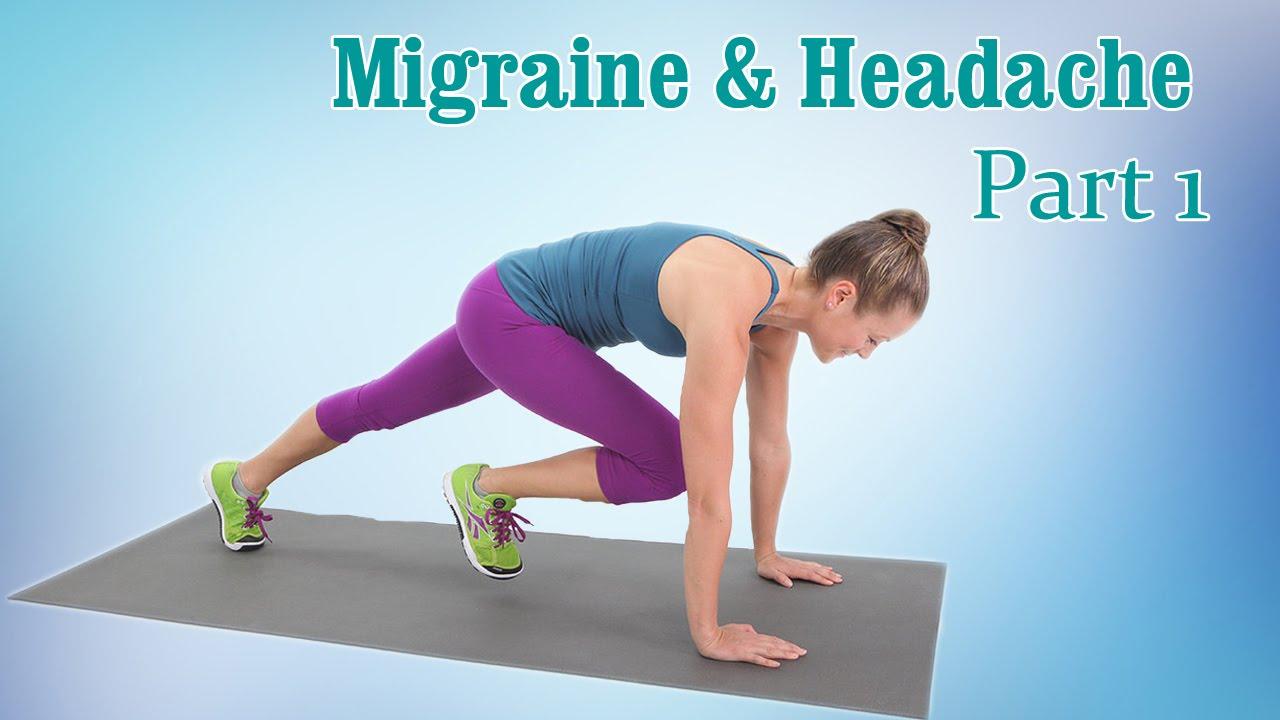 posture yoga migraine